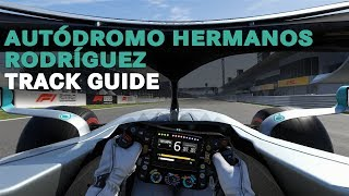 How to Ace a Lap of the Autodromo Hermanos Rodriguez