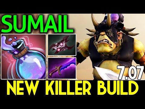 560 Damage stun ! New Meta Build Killer Alchemist by SumaiL Dota 2 7.07