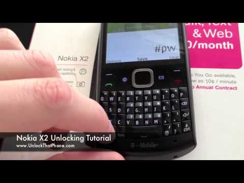 how to unlock nokia x2-00 security code for free