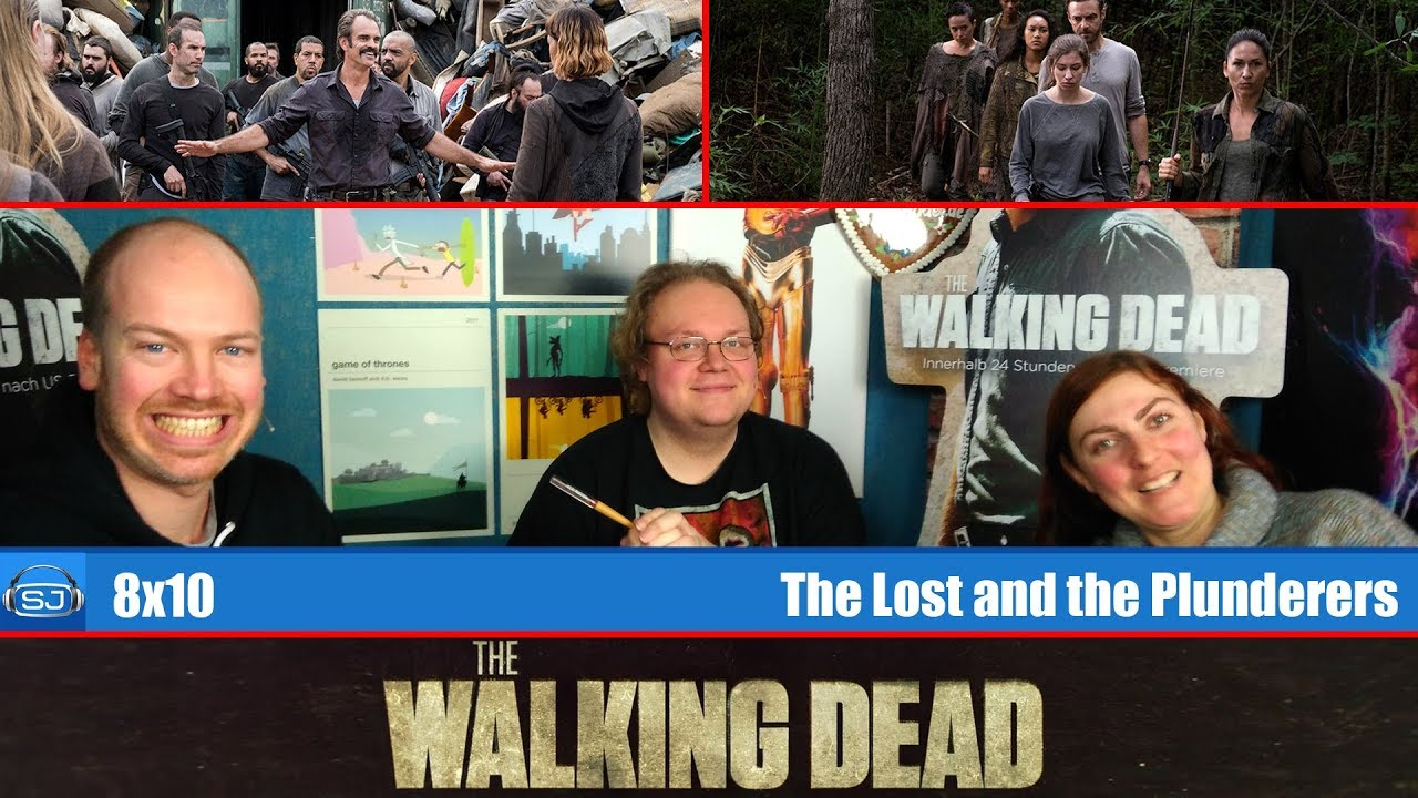 the walking dead 8x10 the lost and the plunderers serienjunkies podcast youtube. Black Bedroom Furniture Sets. Home Design Ideas