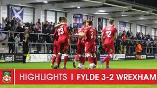 HIGHLIGHTS | AFC Fylde 3 Wrexham AFC 2