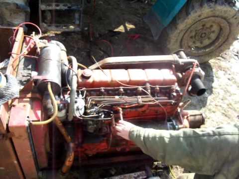 Perkins Motor 6 354 Turb J Rat Sa J Nosh Z N Youtube