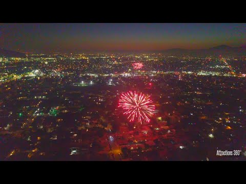 INSANE Fireworks over Los Angeles - Fourth of July 2020