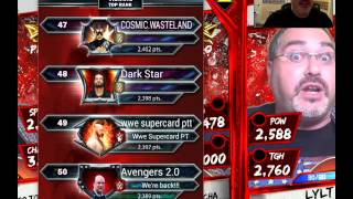 WWE Supercard #93 - Team PCC Progress and Should I What...??!?!?