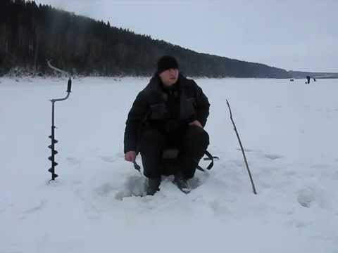 Ловля сопы зимой со льда