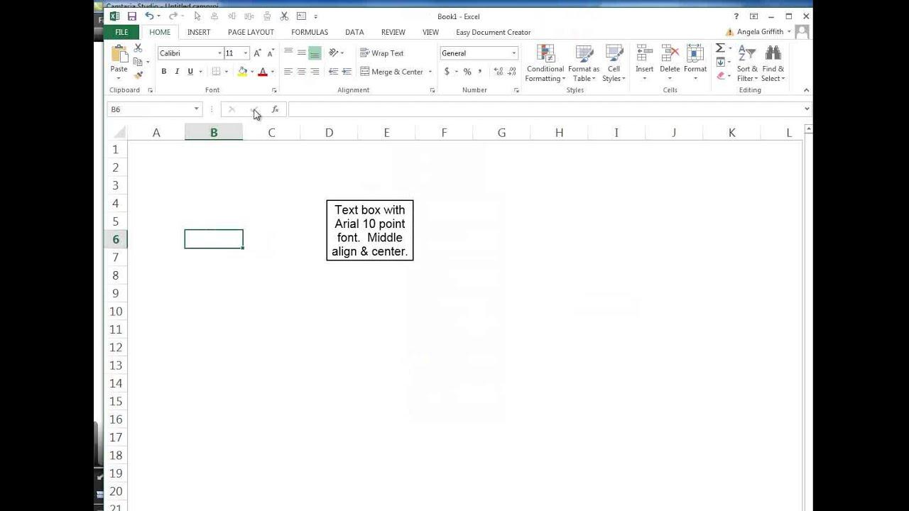 Excel Vba Button Font Size