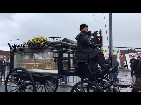Scenes From Ken Dodd's Funeral