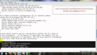 dhcp sous fedora 14