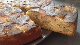 вкуснейший яблочный пирог на кефире