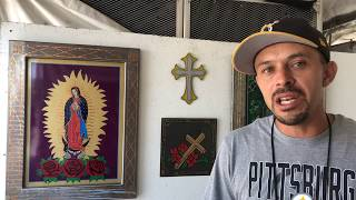 Santa Fe Spanish Market - Artist Interview -Dionisio Dominguez | Painting
