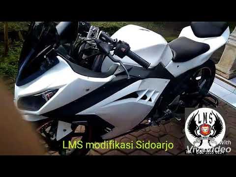 LMS modifikasi Sidoarjo.(Byson Modif Ninja250Fi)👍👍👍