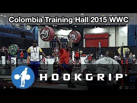 Team Colombia - 2015 WWC Training Hall (Nov 19)