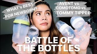 BABY BOTTLES REVIEW | BEST BOTTLE FOR BREASTFED BABIES!!!