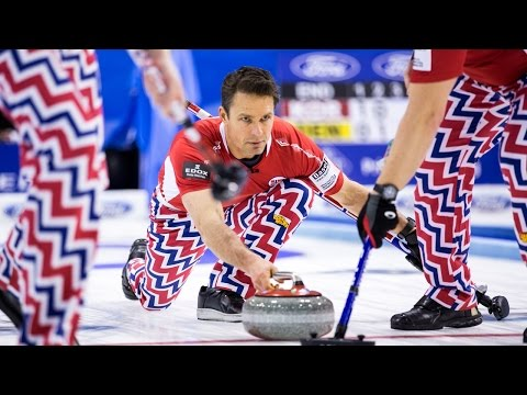CURLING: : KAUSTE (FIN) – ULSRUD (NOR) CCT CURLING MASTERS CHAMPÉRY 2016 | Round Robin |