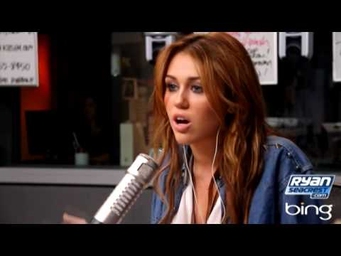 Miley Cyrus on Ryan Seacrest - PART 1 | Interview | On Air With Ryan Seacrest