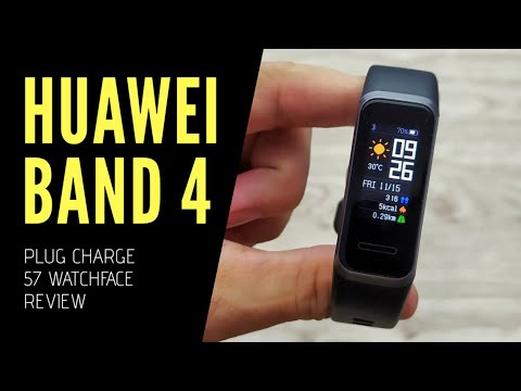 HUAWEI BAND 4 - Fitness Tracker - Unboxing Review (With Subtitle)
