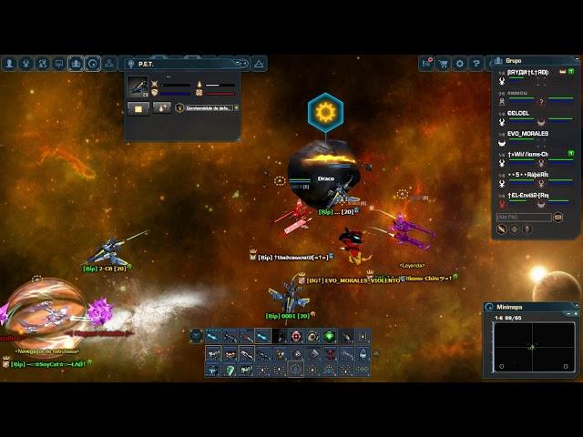 Dark Orbit Ag1 Clan Rip vs Clan Pdt