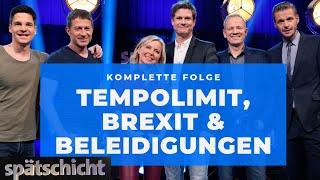 Spätschicht vom 11.10.2019 mit Florian, Alain, Rolf, Simone, Jens und Thomas