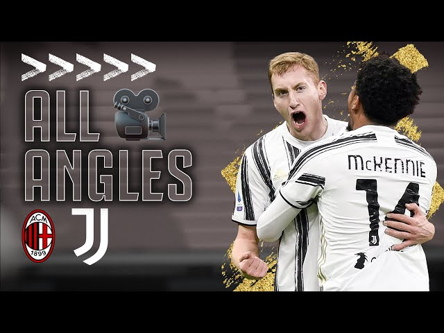 🎥 ALL THE ANGLES | Milan 1-3 Juventus | All Goals & Celebrations from our San Siro Victory!