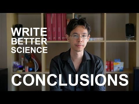 Write Better Science - Conclusions