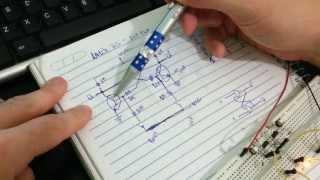 Latch RS com Transistor BC548 - Flip Flop