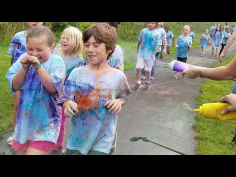 The Color Run at Brevard Elementary School