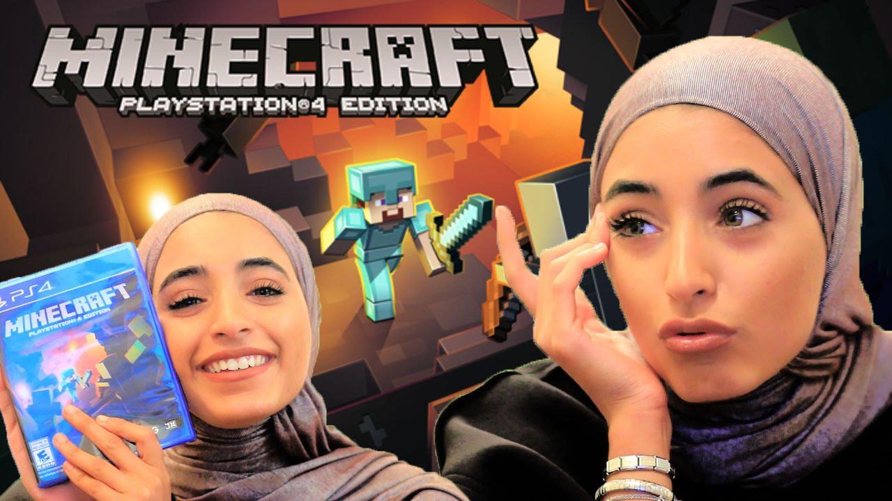 اول تجربه لي في لعبه ماين كرافت | Minecraft