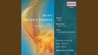 Serenade, Op. 1: III. Dance: Allegro giocoso