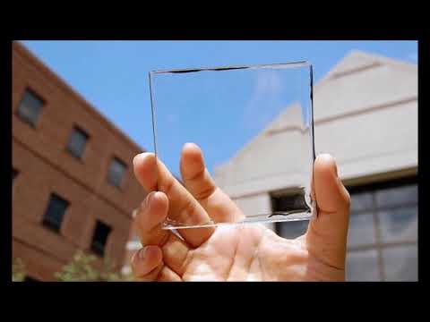 How To Harvest Solar Energy Using Clear Glass