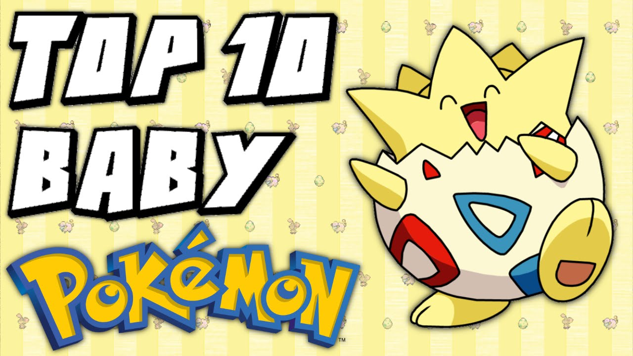 Download Top 10 Baby Pokémon