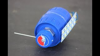 How to Make a generator from dc motor