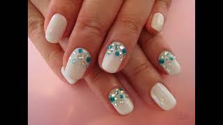 дизайн ногтей белый оттенок