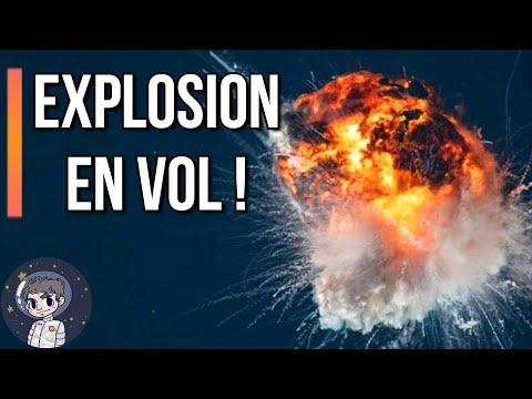 EXPLOSION: La fusée ALPHA explose en plein vol ! - Le Journal de l'Espace #99 - Actualité Spatiale