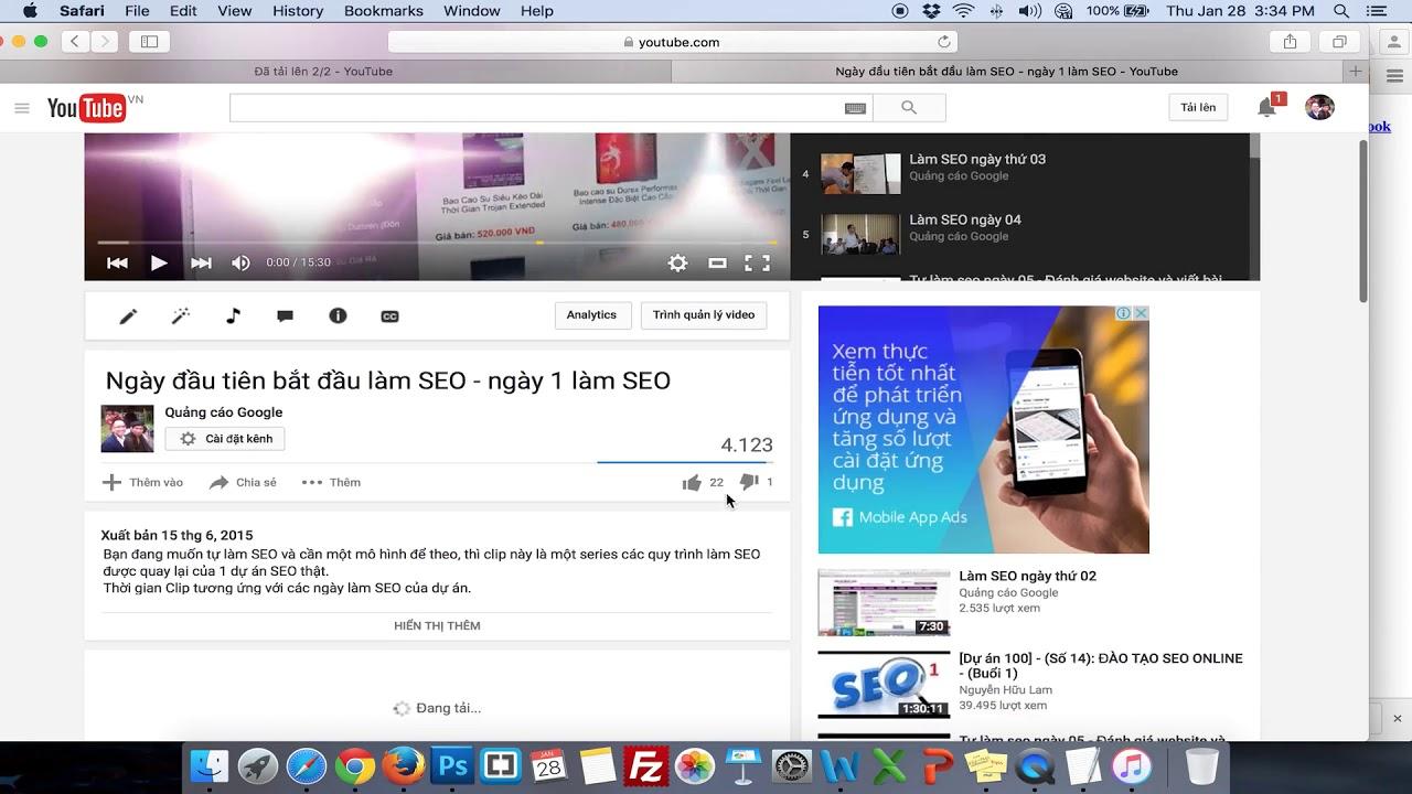 KH5-Marketing trong BĐS| Bài Giảng 37: Hướng dẫn SEO Youtube