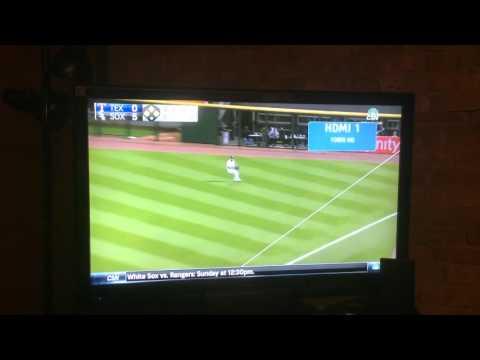 White Sox triple play