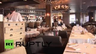Russia: Restaurant goes potty over Sochi's ski slopes