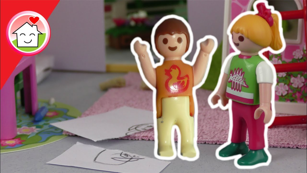 Playmobil Film Deutsch Anna Will Nicht Klein Sein Familie Hauser - Minecraft hauser verschonern