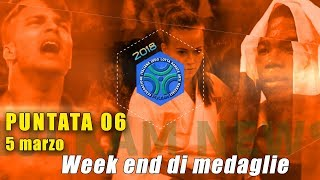 FIJLKAM NEWS 06 - WEEK END DI MEDAGLIE