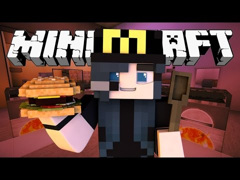 Minecraft McDonalds  FAST FOOD MANIA! (Minecraft Roleplay) #1