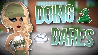 DOING DARES GIVEN BY FANS // MSP