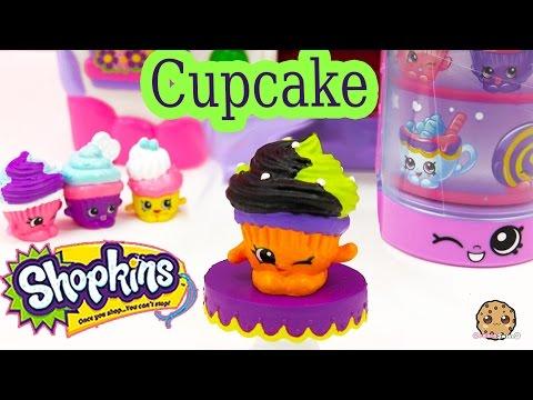 DIY Shopkins Season 3 Custom Exclusive Cupcake Halloween Inspired Painted Craft Toy Cookieswirlc