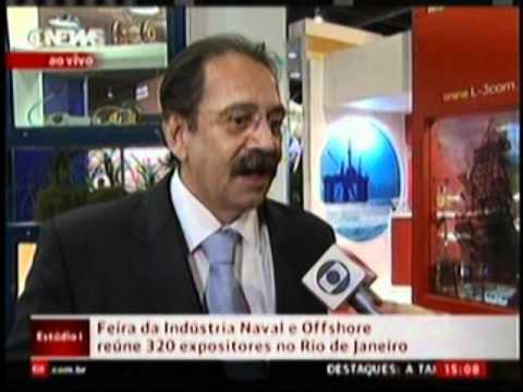 GloboNews apresenta cenário positivo para a Indústria Naval