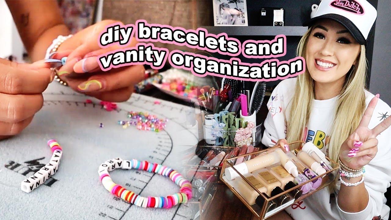I made bracelets for a famous rapper + vanity organization