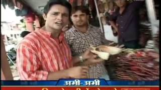 Teej and Ghewar -Rajasthani Food and landmarks - Teej festival - Ghevar Jaipur Rajasthan India