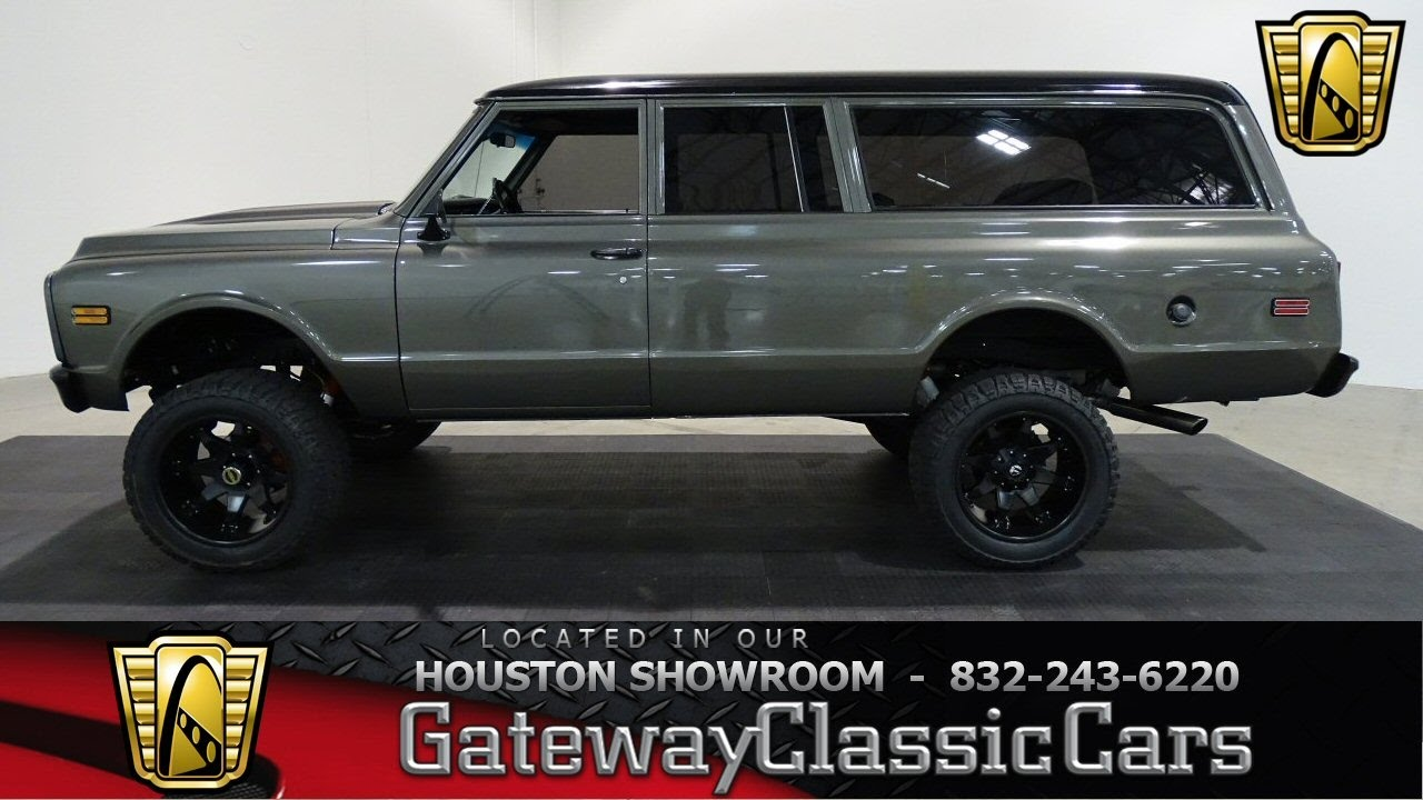 1972 Chevrolet Suburban Gateway Classic Cars #601 Houston Showroom ...