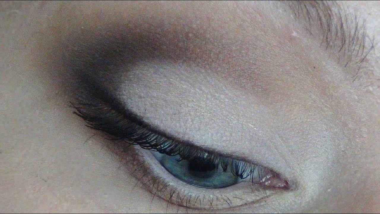 схема карандашной техники макияжа