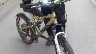 Электровелосипед своими руками 1000вт-3000вт на базе обычного велосипеда.(Переделка велосипеда в электровелосипед. Электровелосипед созданный своими руками. Электровелосипед..., 2016-09-27T17:12:52.000Z)