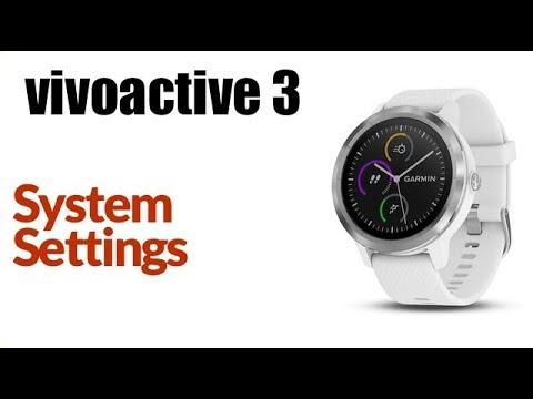 garmin-vivoactive-3---how-to-adjust-system-settings