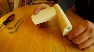 Регулювання петель пластикових дверей