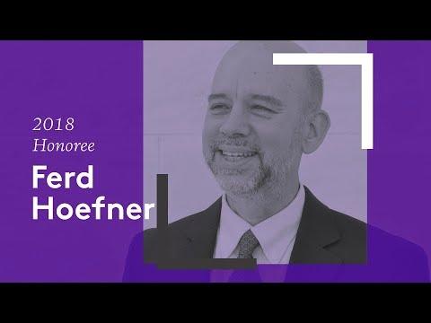 2018 Leadership Award Honoree: Ferd Hoefner